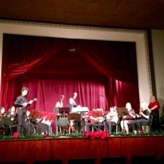Gostovanje tamburaškog orkestra u Čoki 1