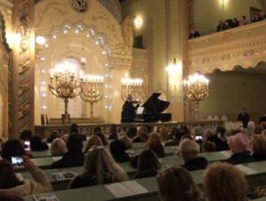Subotička Sinagoga koncert Jovana Kolundžije 1