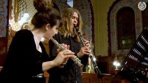 Duo: Aleksandra Tolić – flauta i Oliver Đurković – klarinet
