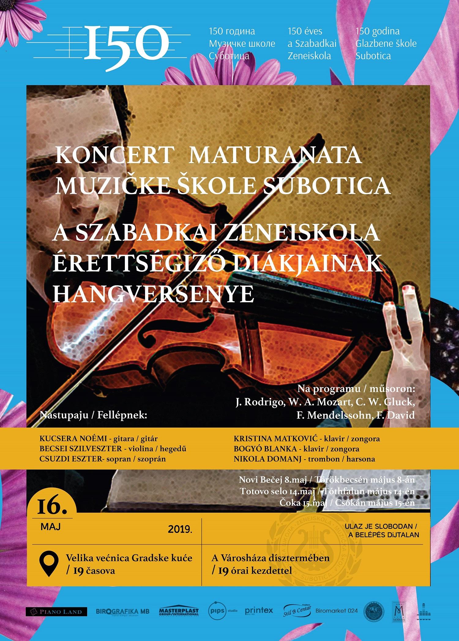 Maturski koncert 2019-01