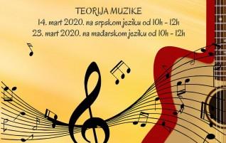 (Srpski) Besplatna pripremna nastava za buduće učenike srednje Muzičke škole Subotica